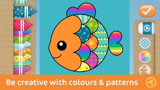 Toonia Colorbook - Educational Colouring game for Kids & Toddlers on ...