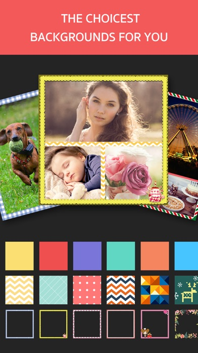 Photo Frame Editor – Perfect Picture Grid Maker screenshot three