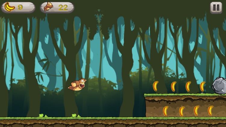 Kong Run - Crazy Endless Monkey Adventure screenshot-4