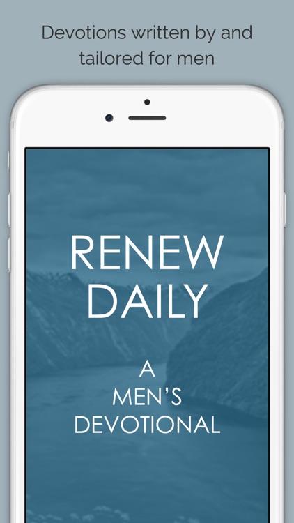 Renew Daily - A Men's Devotional