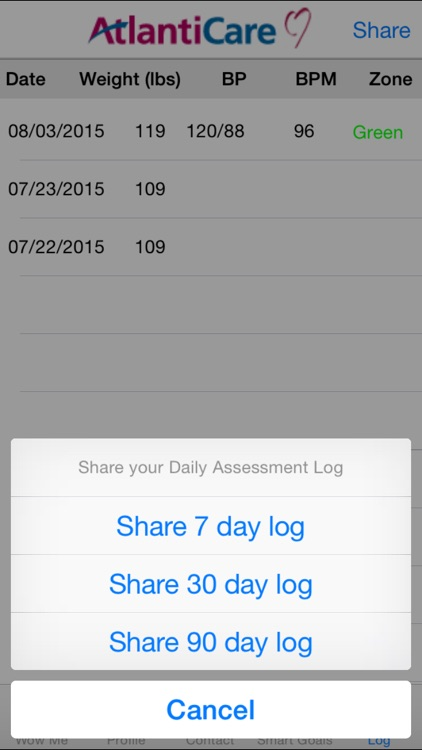 WOW ME 2000mg - Heart Failure Self-management Tool for Patients and Caregivers screenshot-4