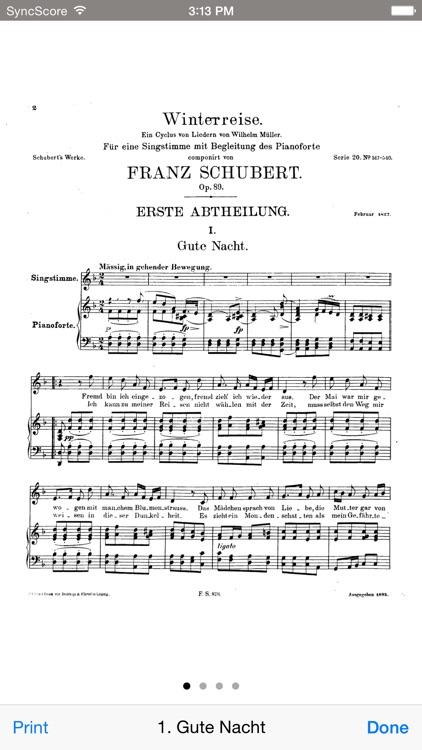 Schubert Winterreise - SyncScore screenshot-3