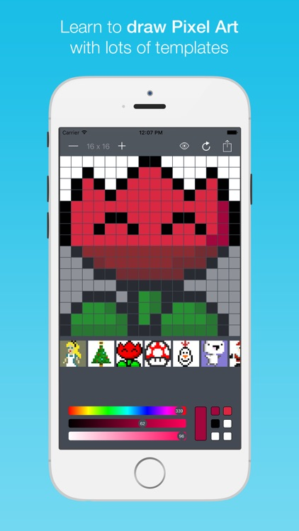 Pixel Art Studio - Learn to draw color sprites