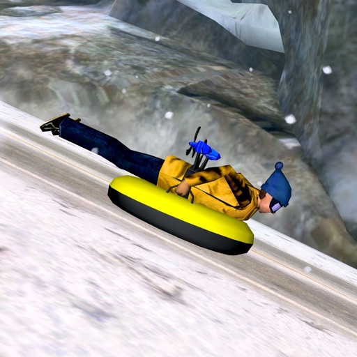Alpine Road Sledding - eXtreme Crazy Winter Snow Racing Adventure Game FREE
