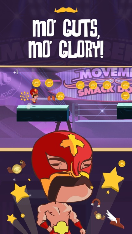 Run Mo Run! - A Movember Game screenshot-3