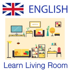 Learn Living Room Words in English Language