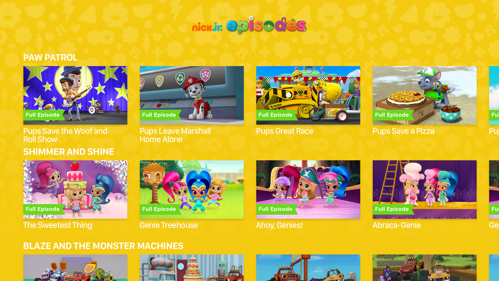 Nick Jr. screenshot 19