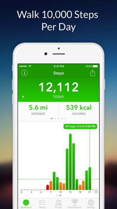 Download Stepz - Step Counter for Pc
