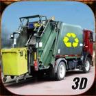 Modern City Garbage Dump Truck Driver 3D Simulator icon