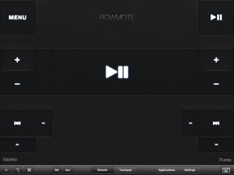 Screenshot #5 pour Rowmote: Remote Control for Mac and Apple TV