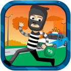 Robber Fast Running - Rush Escape The Police Free Game icon