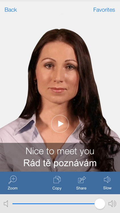 Czech Pretati - Translate, Learn and Speak Czech with Video Phrasebook screenshot-0