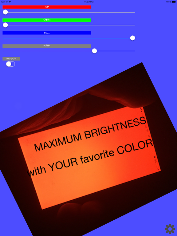 Team Color / Display your favorite color with maximum brightness.