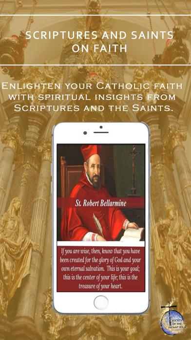 GAUDETE – Catholic Faith Resources App of Infant Jesus Society screenshot one