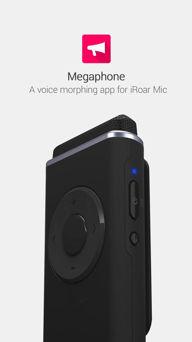 iRoar Megaphone screenshot one