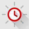 Red Clock FREE Edition - reloj de alarma sencilla