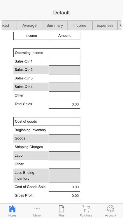 Restaurant Budget screenshot-3