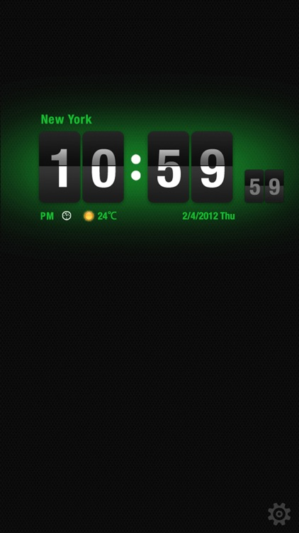 Flip Clock HD screenshot-4