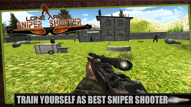 Lone Army Sniper Shooter : Rebel Camps Shoot Outs