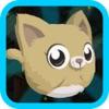 猫跳跃游戏 - 最有趣的成瘾 为孩子们无尽的运行应用程序 免费游戏