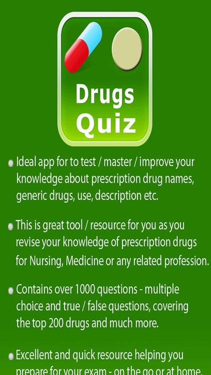 Medication and Pharmaceutical Drugs Quiz