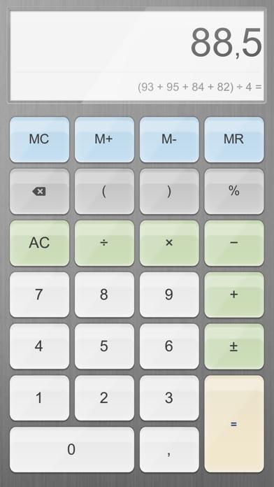 Калькулятор. Скриншоты6