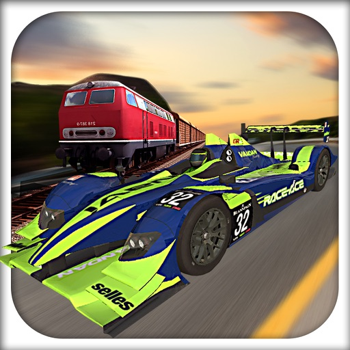 Car VS Train Racing Game