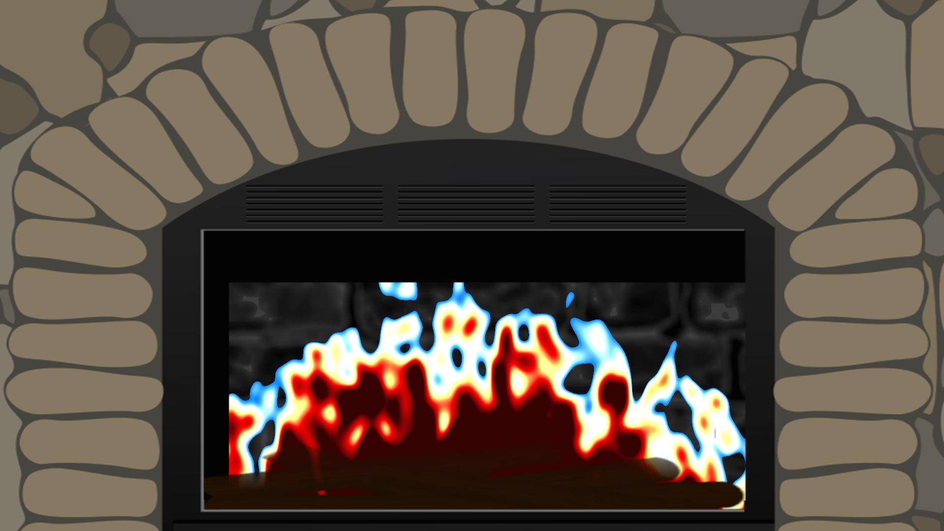 Sensory Flames - Free Fireplace for your TV screenshot 2