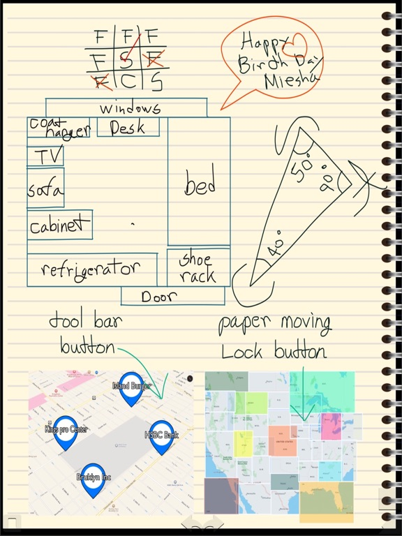 New Note Pro Draw Notebook Write Notes Photo Album Book Memo