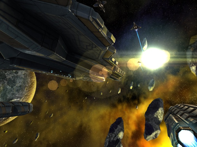 Beyond Space Remastered, game for IOS