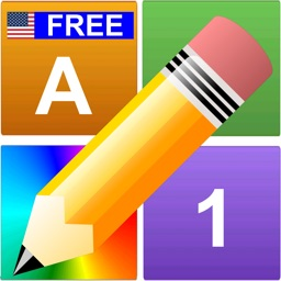 English Letters Numbers Colors Free