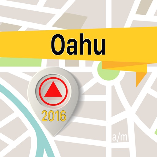 Oahu Offline Map Navigator and Guide