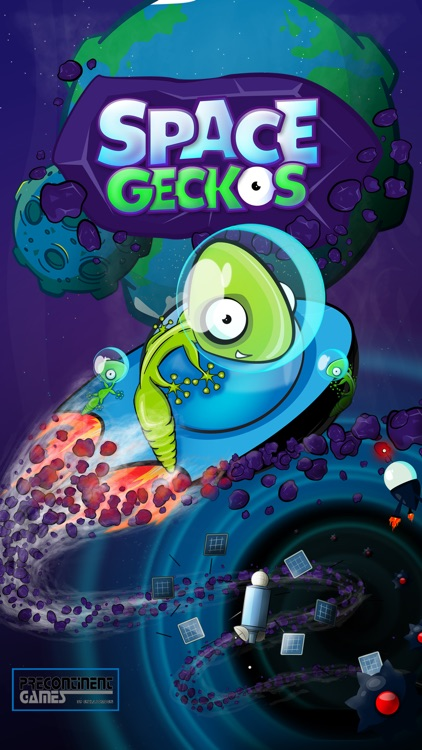 Space Geckos - The Rescue Mission screenshot-0