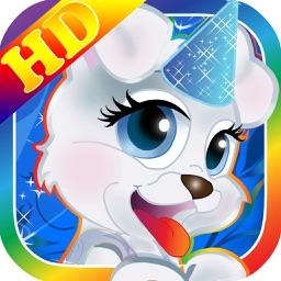 Dress up Animals & Nick Pets Salon for jr Kids HD
