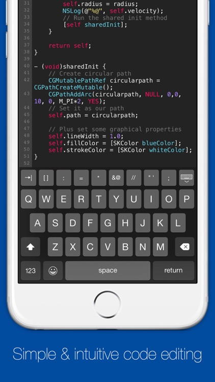 Dringend — Develop apps on iOS