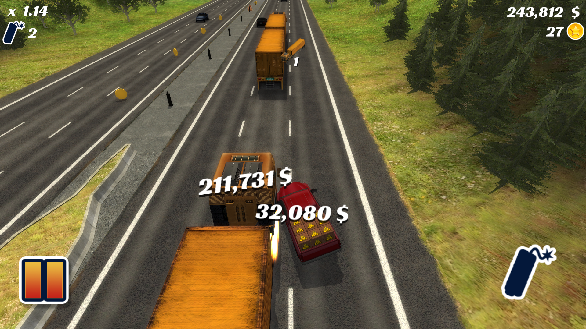 Highway Crash Derby screenshot 13