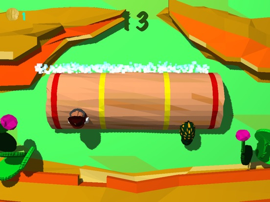 Froggy Log - Endless Arcade Log Rolling Simulator and Lumberjack Game Stay Dry and Dont Fall In The Water!-ipad-4