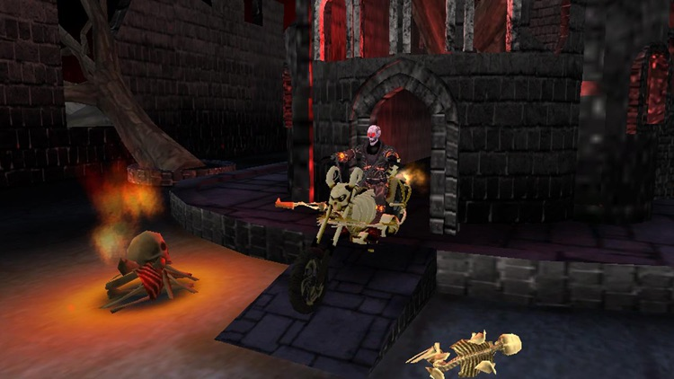 Death Bike Racing 3D  Ghost Rider Motorcycle Race in Skull Hell by