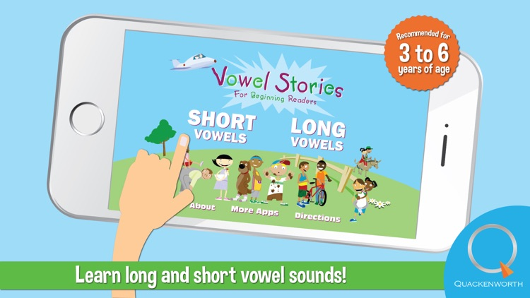 Vowel Stories for Beginning Readers: Learn to Read Long and Short Vowel Sounds screenshot-0