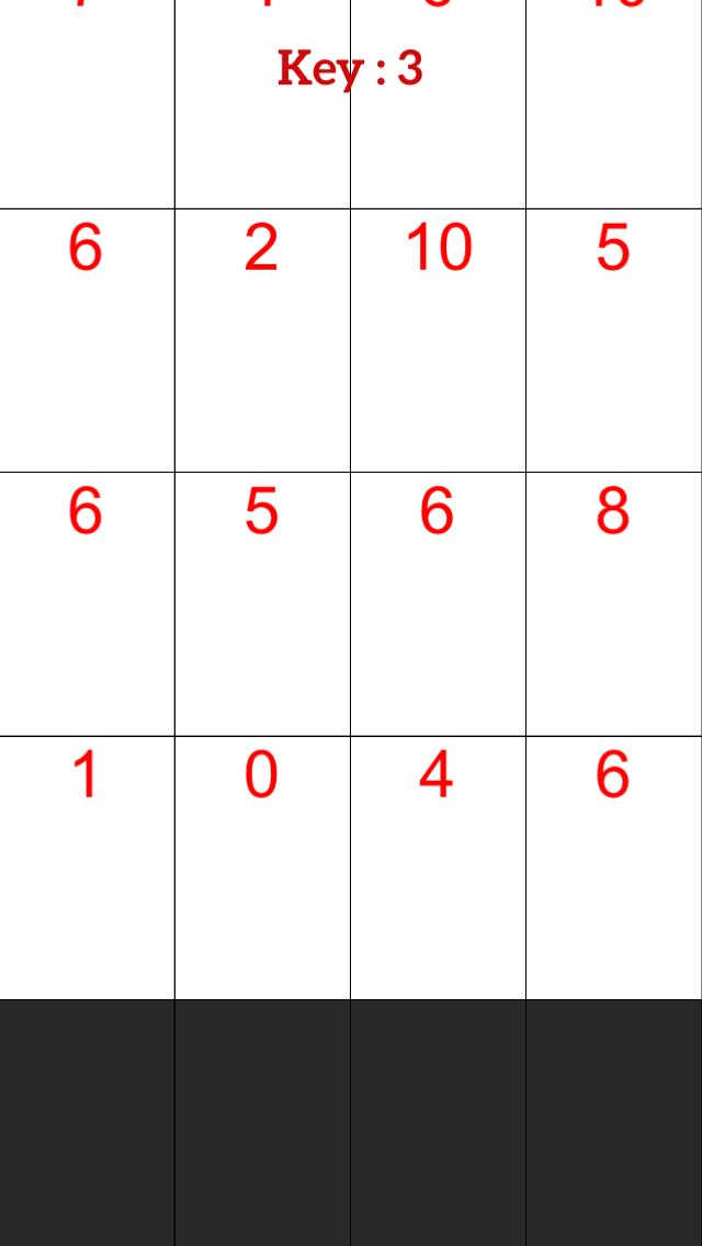 White Piano Number Tiles:Don't Tap Math Even Keyboard Tile screenshot four