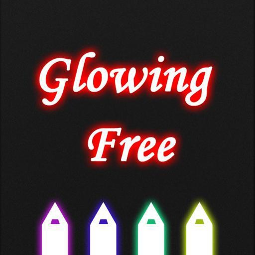 GlowingText HD free for iPhone
