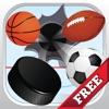 这一抖球 - 弗里克冰球击中足球,橄榄球或足球棒球 - Flick That Ball