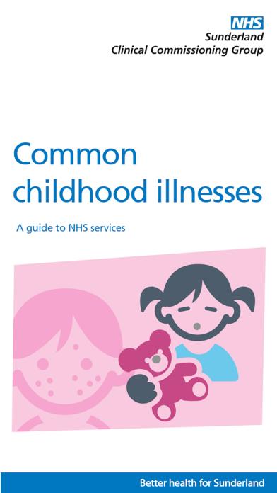 NHS Sunderland Common Childhood Illnesses