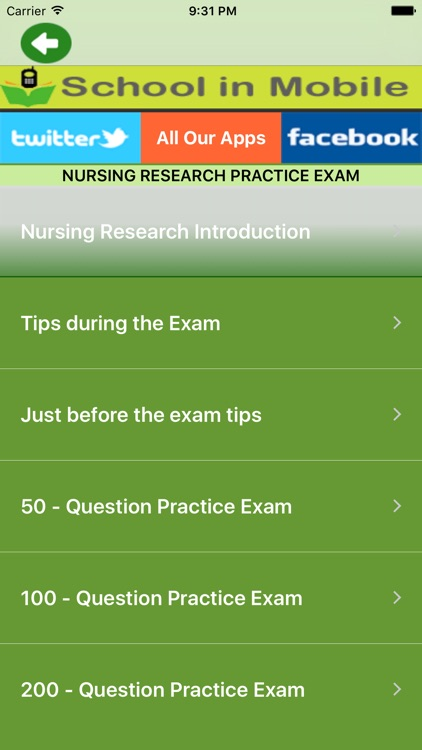 Nursing Research Practice Exam by Aashita Jadhav