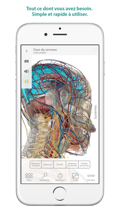 Screenshot for Atlas d'anatomie humaine in France App Store