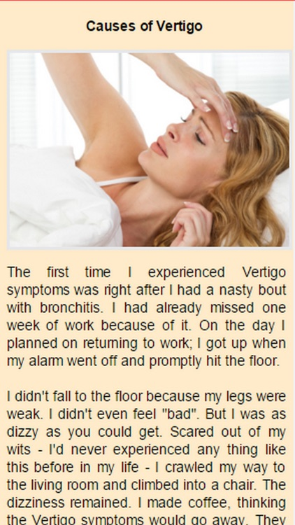 Causes Of Vertigo