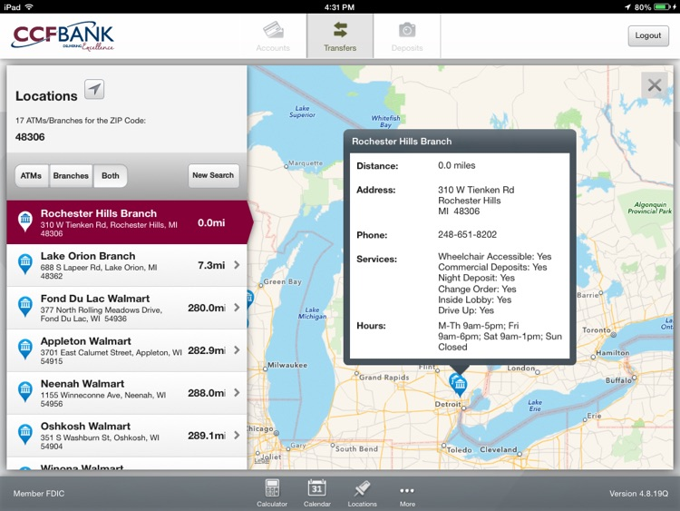 CCFBANK Mobile for iPad screenshot-4