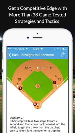 Baseball blueprint on the app store malvernweather Gallery