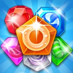 Jewel Smash Mania - 3 match puzzle crush game