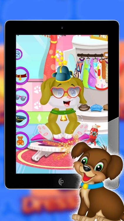 puppy daycare - Messy Animal - Pet Vet Care and dress up puppy